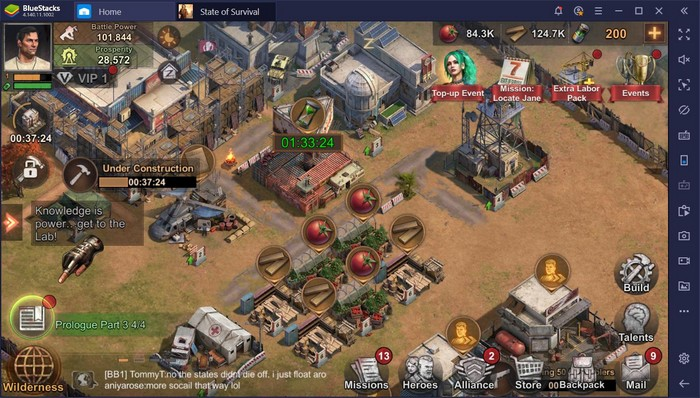 State of Survival sur Bluestacks